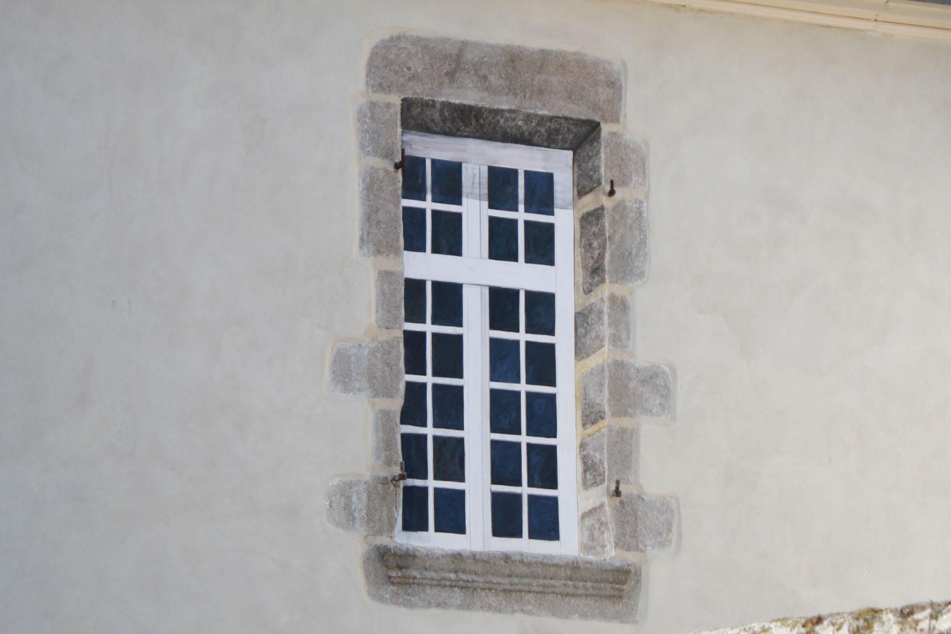 A3 fausse fenêtre gros plan